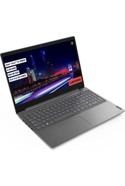 "Lenovo V15 Intel Core i3 1005G1 4GB 256GB SSD Freedos 15.6"" FHD Taşınabilir Bilgisayar 82C500JGTX"