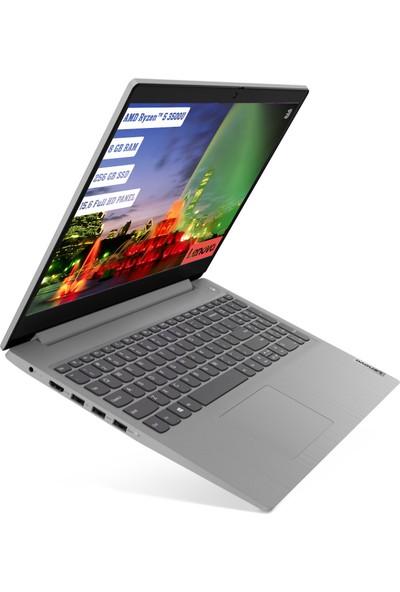 """Lenovo IdeaPad 3 AMD Ryzen 5 3500U 8GB 256GB SSD Freedos 15.6"""" FHD Taşınabilir Bilgisayar 81W1005TTX"""