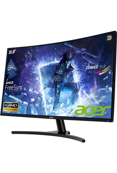 "Acer ED322QRPBMiipx 31.5"" 144Hz 4ms (HDMI+Display) FreeSync Full HD Curved Monitör"