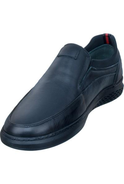 Adıgüzel Siyah Neopren Lastikli Günlük Erkek Ayakkabı