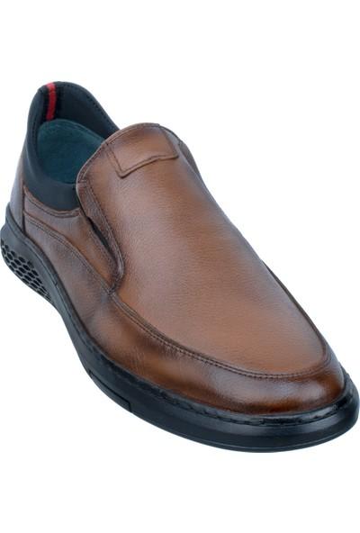 Adıgüzel Taba Neopren Lastikli Günlük Erkek Ayakkabı