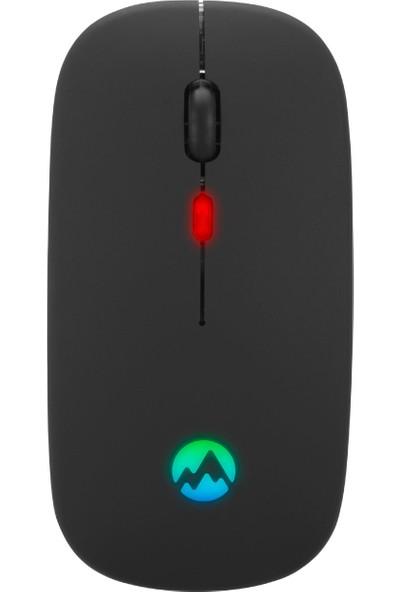 Everest SM-BT11 Ince Rgb Kablosuz Mouse