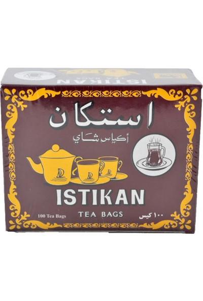 Istıkan Tea Bags Sallama Poşet Çay 100'lü