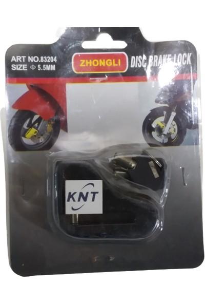 Knt Zhongli Motosiklet Çelik Disk Kilidi 5.5 mm