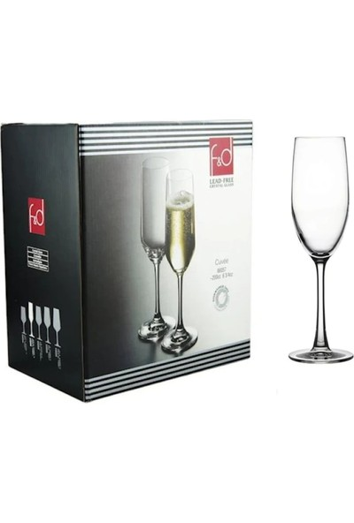 Paşabahçe F&d 6 Lı Kristal Şampanya Kadehi 67081