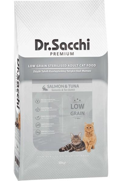 Dr. Sacchi Premium Natural Sığır Etli Kısırlaştırılmış Yetişkin Kedi Maması 10 kg