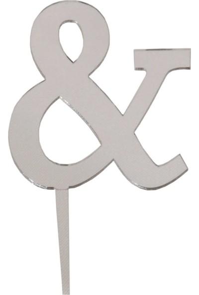 Organizasyon Pazarı Pleksi & Gümüş 7 Cm Aynalı Pleksi