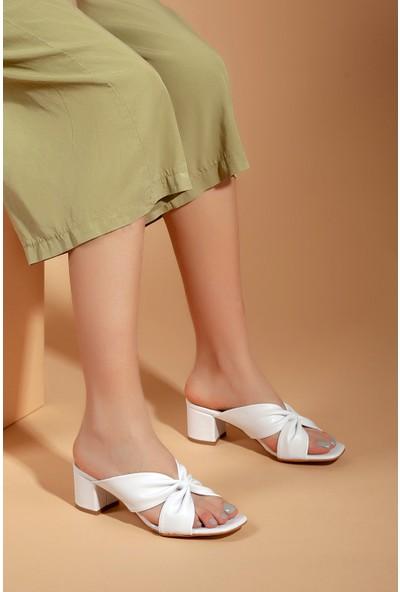 Daxtors D0226 Kadın Klasik Topuklu Terlik