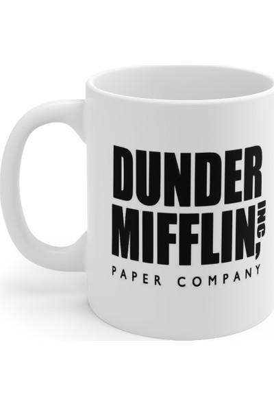 Mugs & Gift The Office - World's Best Boss Baskılı Kupa