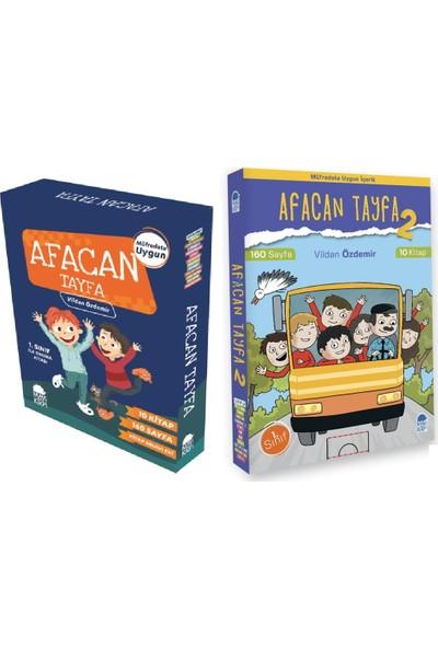 Mavi Kirpi Yayınları 1. Sınıf Okuma Kitapları Ilk Okuma Afacan Tayfa 2 Set Bir Arada 20 Kitap Set Kutulu (Kitap Sınavı Ekleriyle)