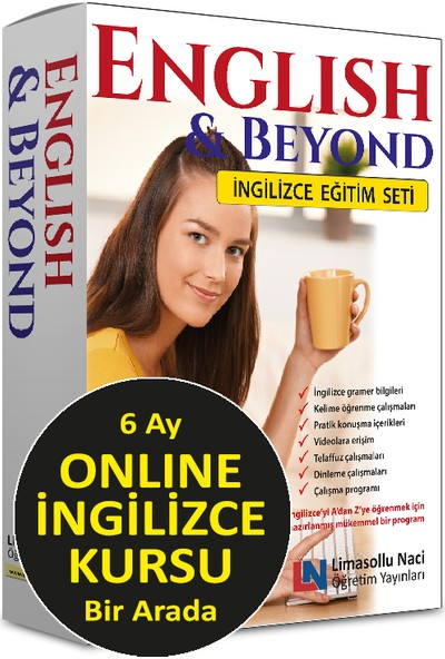 English & Beyond – Ingilizce Eğitim Seti + 6 Ay Online Ingilizce Kursu