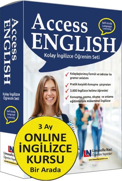 Access Ingilizce Eğitim Seti + 3 Ay Online Ingilizce Kursu