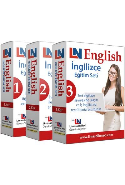 Limasollu Naci 3 Kur Bir Arada Komple İngilizce Eğitim Seti