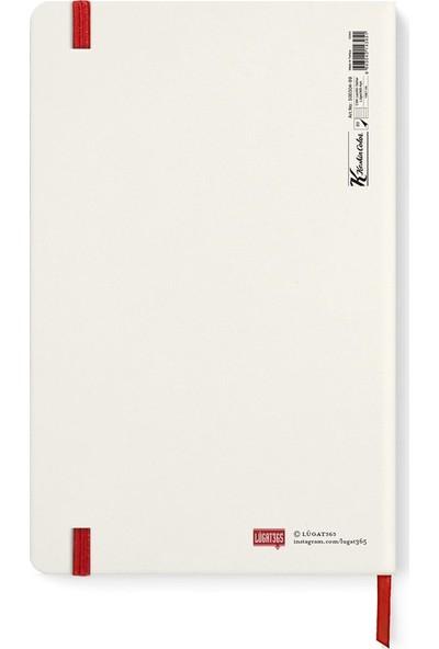 Lûgat365 Çizgili Defter Tebessüm 13 x 21 cm