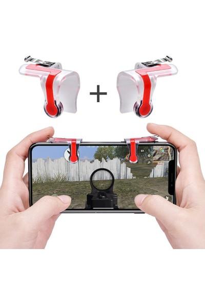 Ceponya Üstten Tetik Pubg 4 Parmak Kullanım Mobil Oyun Aparatı