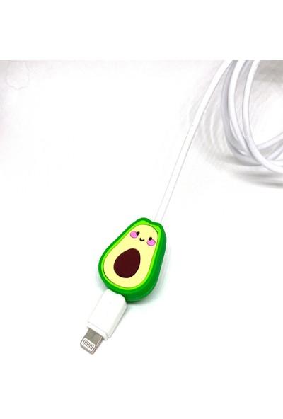 Mürdüm Sevimli Avokado Kablo Koruyucu