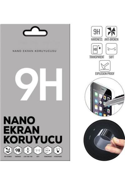 Smartberry Xiaomi Redmi Note 9s Kılıf Lüks Lazer Yüzüklü Silikon + Nano Ekran Koruyucu Rose Gold