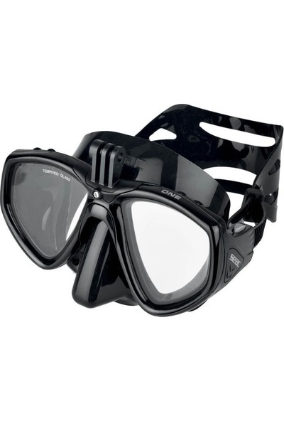 Seac Sub Maske One Pro (Sıyah)