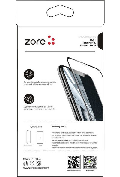 Ceponya Galaxy A21S Mat Seramik Mobil Oyuncu Ekran Koruyucu Şeffaf