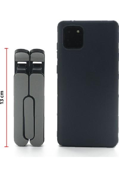 Wlue Masaüstü Mini Telefon ve Tablet Tutucu Stand Ayarlanabilir 6 Kademeli 13 cm