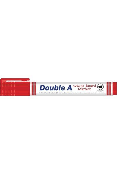 Double A Beyaz Tahta Kalemi Kırmızı