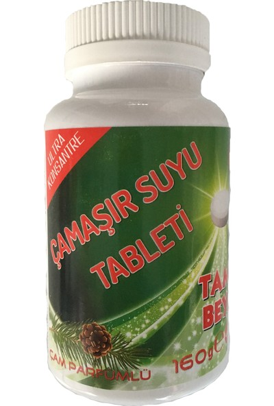 Tampa Konsantre Çamaşır Suyu Tableti 40 lı -160 GR