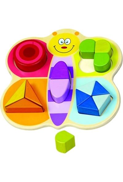 Hongji Ahşap 93536 Geometrik Bloklar Bohjd93536