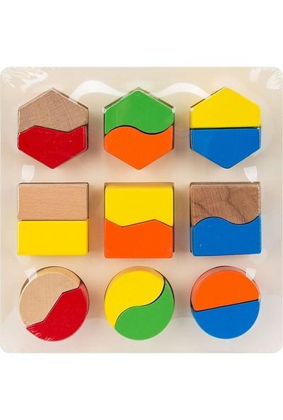Hongji Ahşap 93564 Geometrik Şekiller Bohjd93564