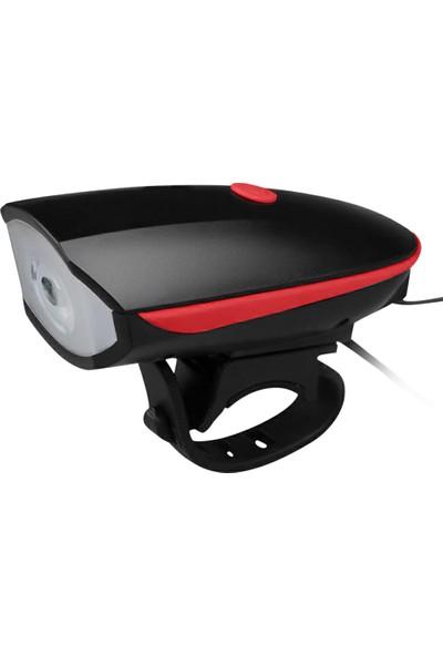 MBW Bisiklet Işığı USB Şarj Edilebilir LED Bisiklet Farları (Yurt Dışından)