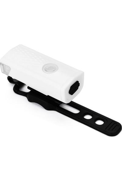 MBW Bisiklet Işık Su Geçirmez USB Şarj Edilebilir Ön LED (Yurt Dışından)