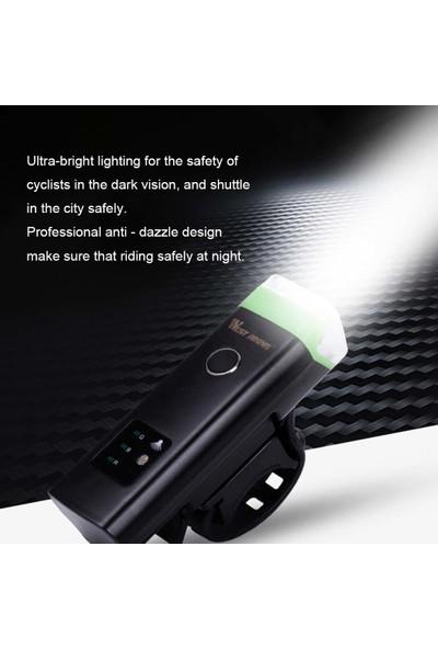 West Biking Ön Bisiklet Işık USB Şarj Edilebilir (Yurt Dışından)