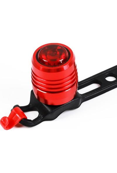 West Biking Su Geçirmez LED Bisiklet Arka Işık USB (Yurt Dışından)