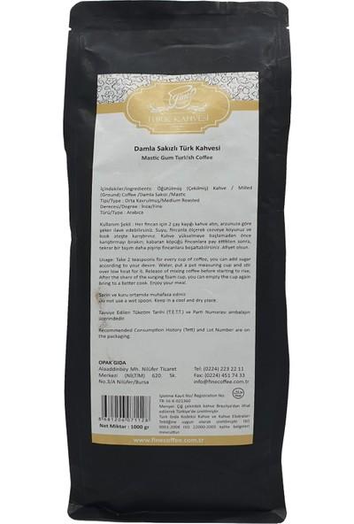Fine Coffee Damla Sakızlı Türk Kahvesi ( 1000 gr )