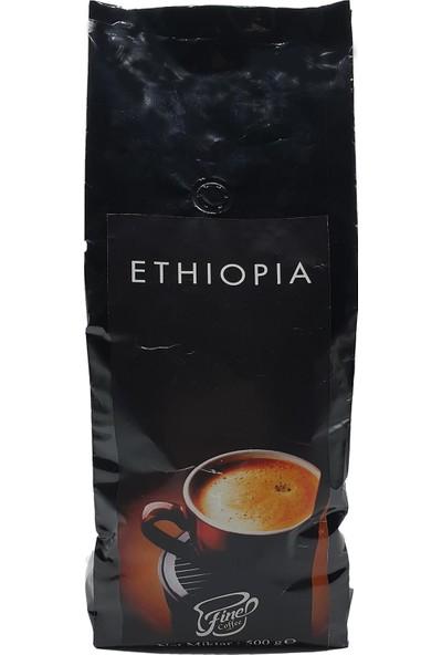 Fine Coffee Ethiopia Kahve Çekirdeği ( 1000 gr )