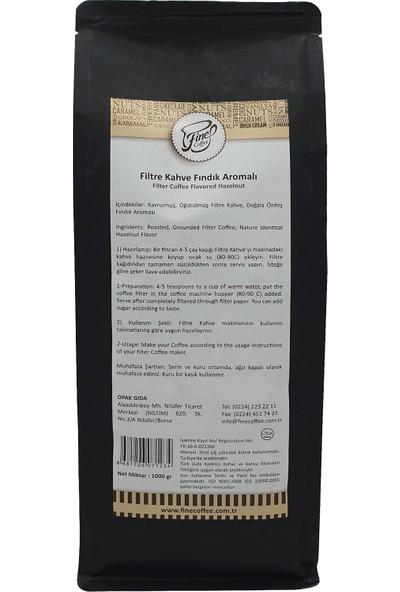 Fine Coffee Fındıklı Filtre Kahve ( 1000 gr )