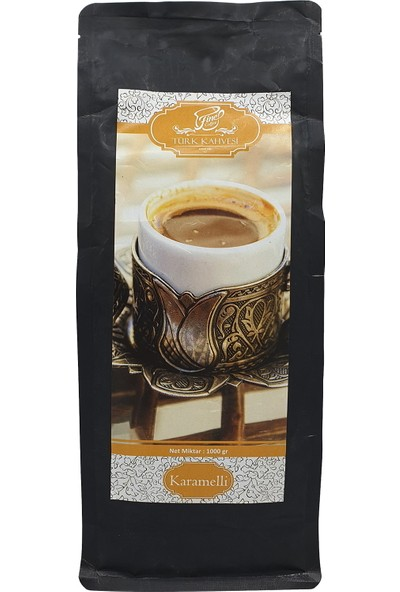 Fine Coffee Karamelli Türk Kahvesi ( 1000 gr )