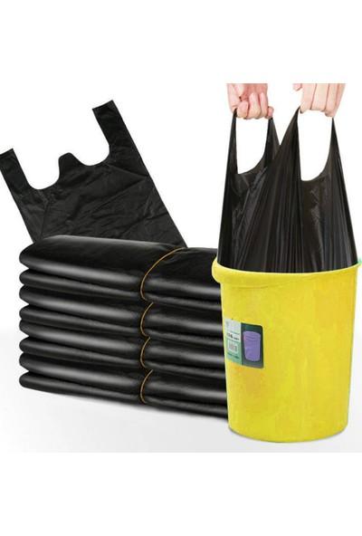 İhtiyaç Limanı Siyah Büyük Boy Poşet 30X60 Hışır Atlet Alışveriş Çöp Poşeti Torbası 2kg