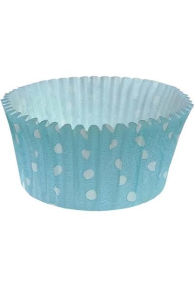 Bens Cupcake Kapsül Turkuaz No:4 50X30 mm - 300'LÜ