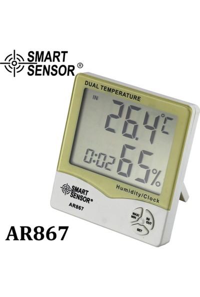 Smart Sensor Akıllı Sensör AR867 LCD Dijital Higrometre Termometre (Yurt Dışından)