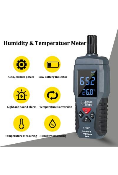 Smart Sensor Akıllı Sensör Nem ve Sıcaklık Ölçer Yüksek Doğruluk (Yurt Dışından)