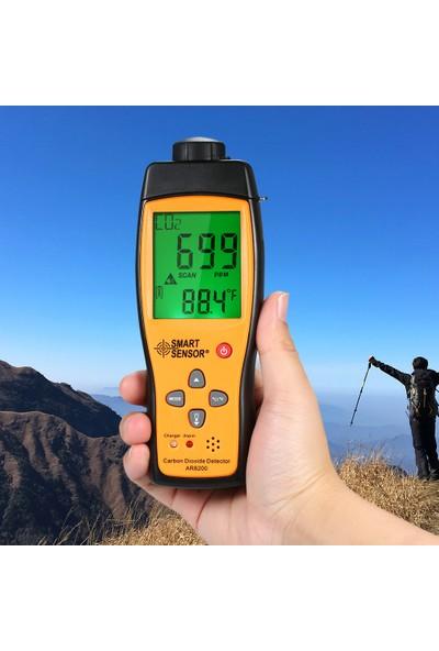 Smart Sensor Akıllı Sensörü Karbon Dioksit Dedektörü Taşınabilir (Yurt Dışından)