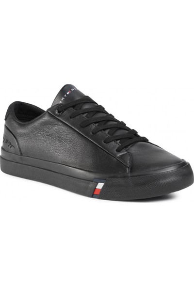 Tommy Hilfiger Erkek Tommy Hilfiger Corporate Leather Erkek Sneaker FM0FM02983