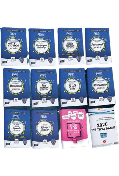 Liyakat Yayınları 14'lü Efsane Altın Set - 2021 Pmyo Özel Hazırlık