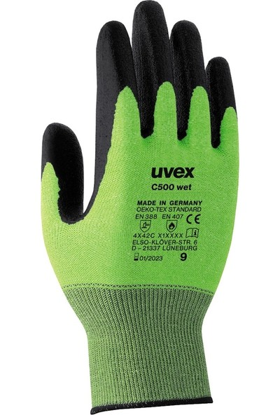 Uvex Uvex C500 Wet Kesilmeye Karşı Koruyucu Eldiven