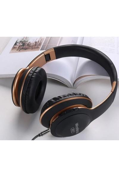 Blue Inter P17 Wireless Bluetooth 5.0 Edr Kulak Üstü Kulaklık