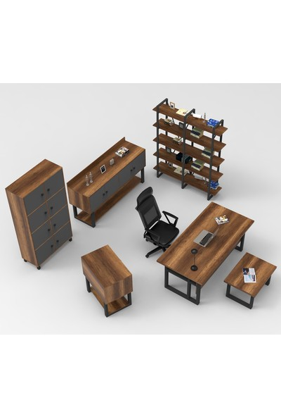 Robin Home Vivaldi Abcdef Ofis Büro Makam Takımı Barok