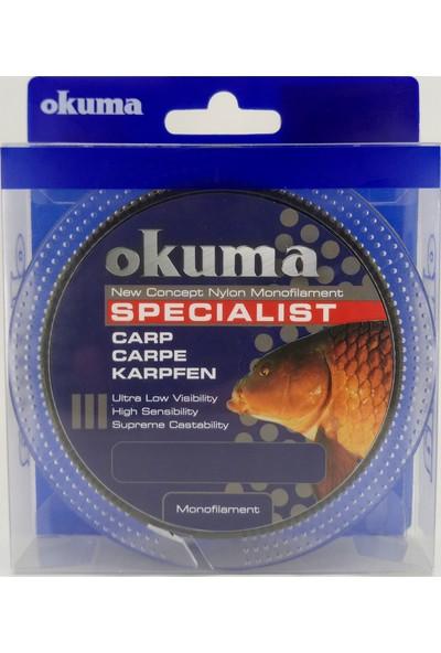 Okuma Specialist 300M Monofilament Camou Misina Yeşil