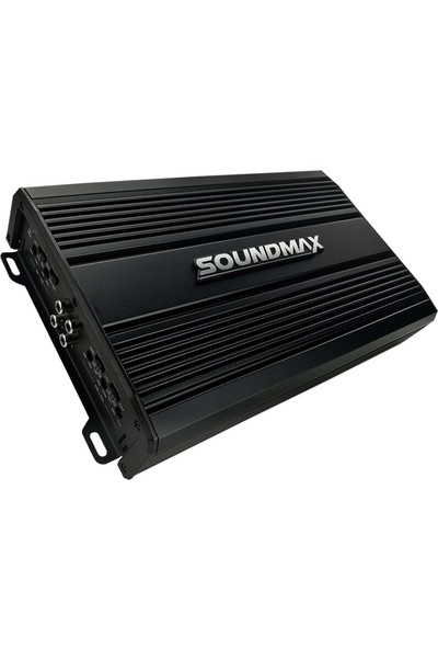 Soundmax SX-3000.4AB 4000W 4 Kanal Profesyonel Oto Anfi