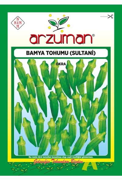 Arzuman Sultani Bamya Tohumu 25 Gram