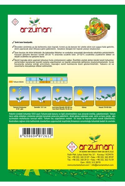 Arzuman Sırık Fasülye Tohumu 50 Gram